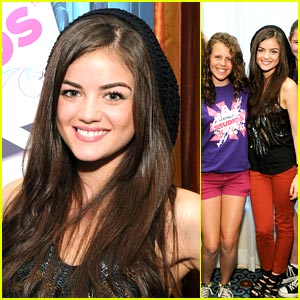 Lucy Hale is a Skintimate Sweetie