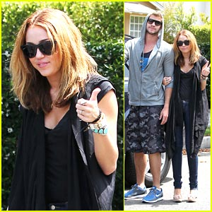 Miley Cyrus & Her Blue-Shoes Boyfriend