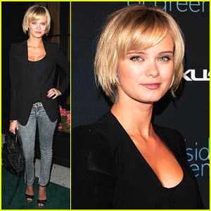 Sara Paxton Sees The Darker Side of Green