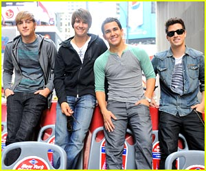 Big Time Rush Takes Over NYC!
