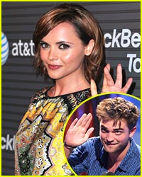 Christina Ricci Dishes Kisses with Rob Pattinson