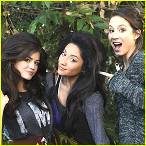 Lucy Hale & Shay Mitchell: Check Out the Blowouts!