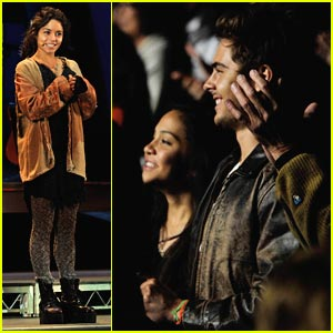 Zac Efron Watches Vanessa Hudgens in RENT -- PICTURES!