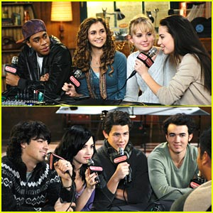 Jonas Brothers &#038; Meaghan Martin: Camp Rock 2 in ONE DAY!