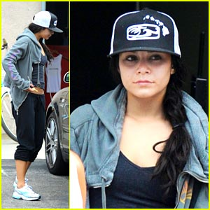 Vanessa Hudgens is a Workout Woman