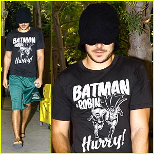 Zac Efron: Beanie in Beverly Hills