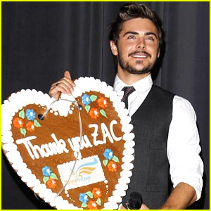 Zac Efron Shows His 'Wings'