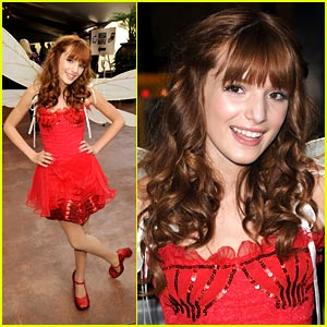 Bella Thorne: Fairy Rosetta at Megamind Premiere!