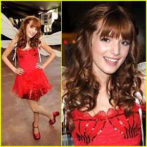 Bella Thorne: Fairy Rosetta at Megamind Premiere!