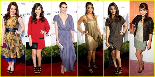 2010 Teen Vogue Young Hollywood Party -- Best Dressed Poll!
