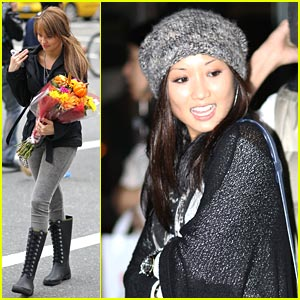 Brenda Song & Debby Ryan: Vancouver Tourists
