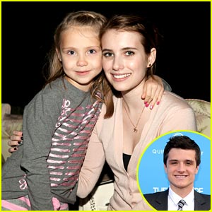 Emma Roberts &#038; Josh Hutcherson are 'Aaron and Sarah'