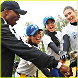 Robbie Jones & Ashley Tisdale: Flag Football Friends