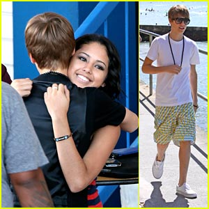 Justin Bieber: Hawaii With Jasmine V &#038; Jaden Smith!