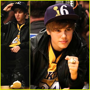 Justin Bieber: Let's Go Lakers!