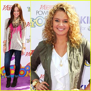 Tiffany Thornton Meets Martina McBride!