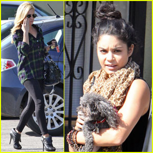 Vanessa Hudgens &#038; Brittany Snow: Mid-Day Date!
