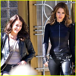 Alexa Vega in 'Spy Kids 4' -- FIRST LOOK!