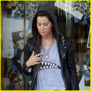 Ashley Tisdale: Hooded Barneys Babe