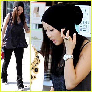 Brenda Song: Poker For Presents!