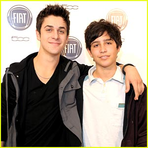 David Henrie: Chrysler Night with Brother Lorenzo!