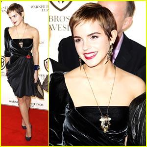 Emma Watson is Very Vionnet