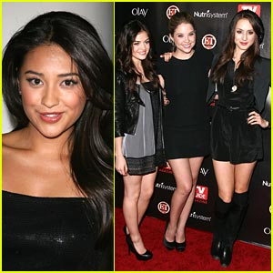 Pretty Little Liars Hit Up the Hot List Party