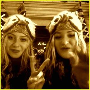 Aly & AJ Michalka: Happy Holidays Everyone!