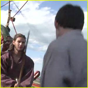 Ben Barnes: 'Narnia' B-Roll & Behind the Scenes!