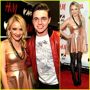 Emily Osment & Jesse McCartney Rock The Z100 Jingle Ball