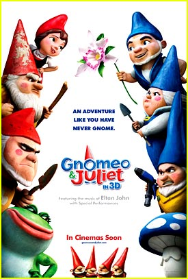 New 'Gnomeo & Juliet' Poster -- JJJ Exclusive!
