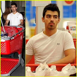 Joe Jonas is On Target
