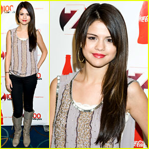 Selena Gomez: Z100's Jingle Ball All Access Lounge!