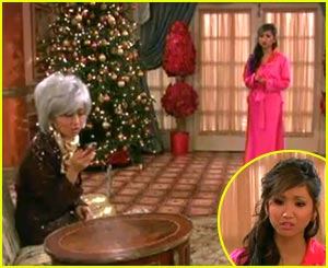 Brenda Song Tells A 'London Christmas Carol'