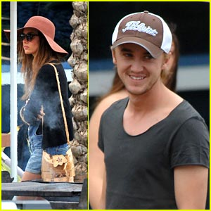 Tom Felton: Golf in Miami with Jade Olivia