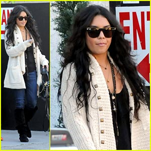 Vanessa Hudgens: Lunch with Matt Prokop & Sarah Hyland!