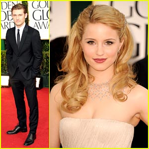 Dianna Agron & Alex Pettyfer: Golden Globe Awards 2011
