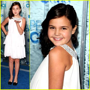 Bailee Madison 'Just Goes With It' at People's Choice
