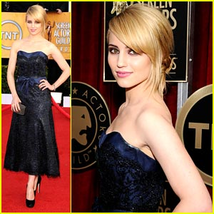 Dianna Agron: Stunning at the SAG Awards 2011
