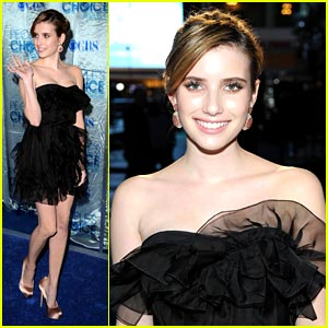 Emma Roberts: Dior Delicious at People's Choice