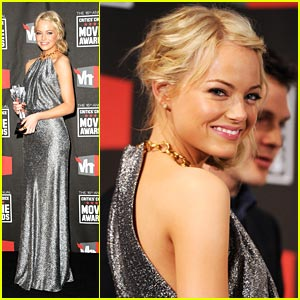 Emma Stone: Critics' Choice Awards 2011 Winner!