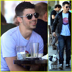 Joe Jonas & Winston: Lunch with Honor Society!
