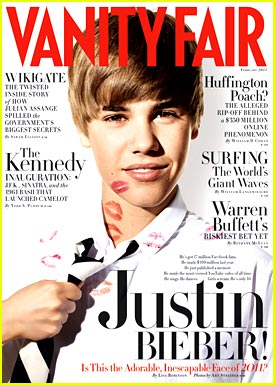 Justin Bieber: Vanity Fair Fella