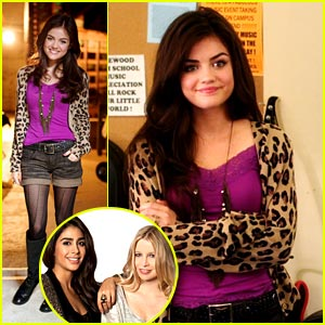 Lucy Hale: Get The 'Pretty Little Liars' Look!