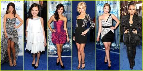 2011 People's Choice Awards Best Dressed Poll