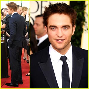 Robert Pattinson: Gucci at the Golden Globes