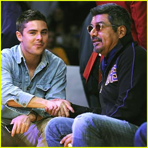 Zac Efron: Let's Go Lakers