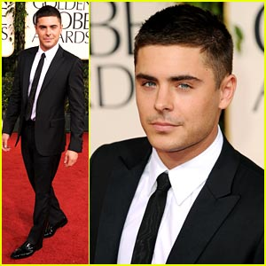 Zac Efron: Golden Globe Awards 2011