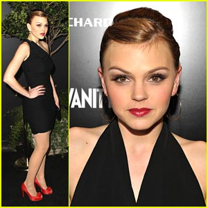 Aimee Teegarden: Nominees Night Party!