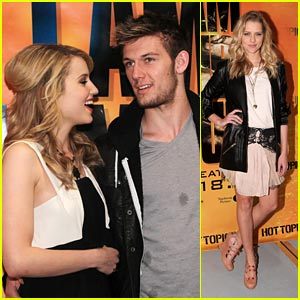 Dianna Agron &#038; Alex Pettyfer: Hollywood &#038; Highland Hot Topics